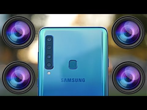 Video over Samsung Galaxy A9 (2018)
