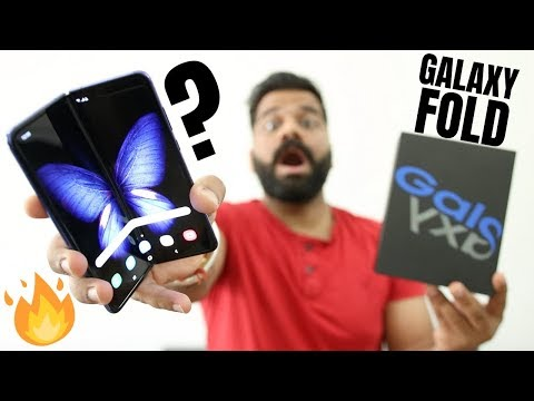 Video over Samsung Galaxy Fold
