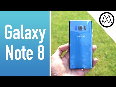 Video over Samsung Galaxy Note 8
