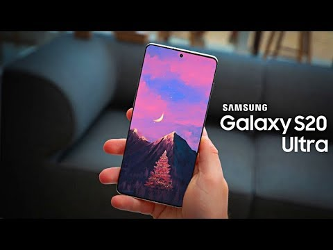 Video over Samsung Galaxy S20 Ultra