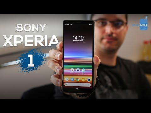 Video over Sony Xperia 1