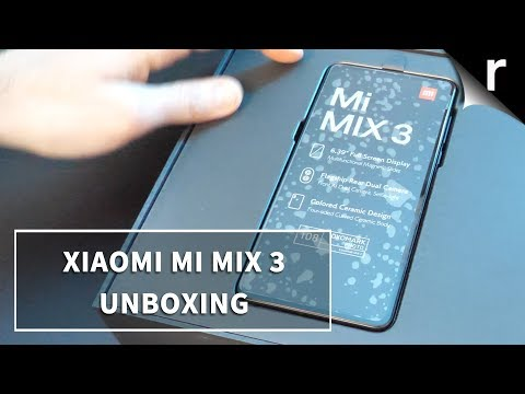 Video over Xiaomi Mi Mix 3