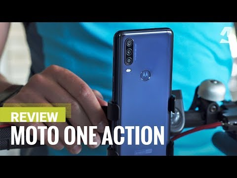 Video over Motorola One Action