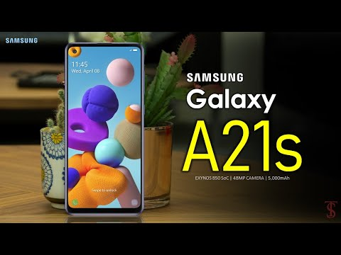 Video over Samsung Galaxy A21s
