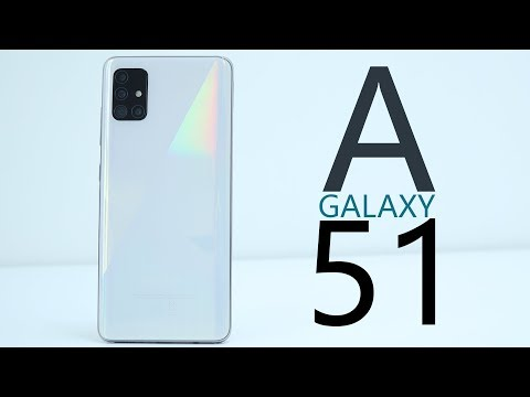 Video over Samsung Galaxy A51