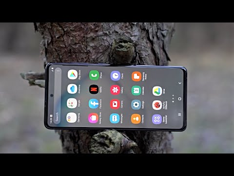 Video over Samsung Galaxy Note 10 Lite