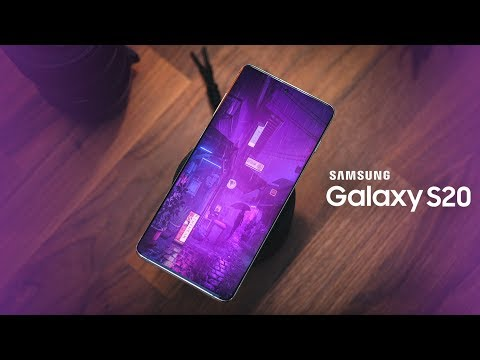 Video over Samsung Galaxy S20