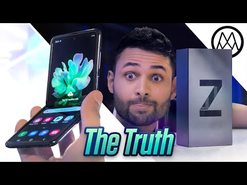 Video over Samsung Galaxy Z Flip